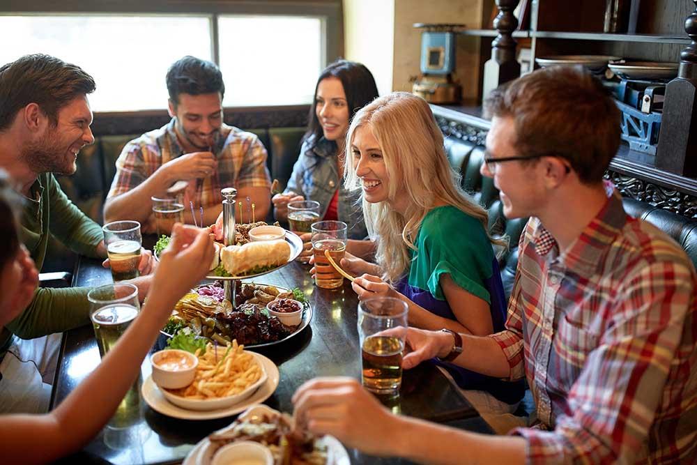 Bringt Schwung in eure Lunchroutine - Essen gehen