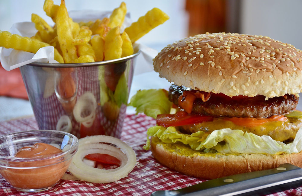 Burger essen gehen in Berlin - WeiSsensee